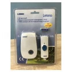 Звонок беспроводной в розетку 230V LEMANSO LDB03