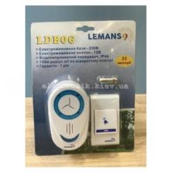 Звонок беспроводной в розетку 230V LEMANSO LDB06