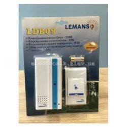 Звонок беспроводной в розетку 230V LEMANSO LDB09