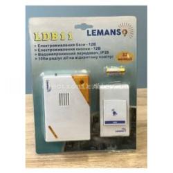 Звонок беспроводной на батарейках 12V LEMANSO LDB11