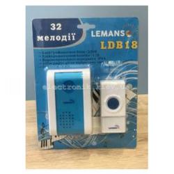 Звонок беспроводной в розетку 230V LEMANSO LDB18