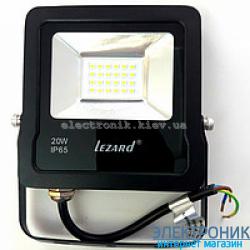 Светодиодный прожектор Lezard 20W-6500K
