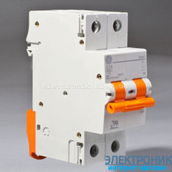 Автоматический выключатель Domus 6 kA, 25A, 2p, С
