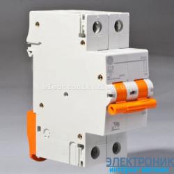 Автоматический выключатель Domus 6 kA, 63A, 2p, С