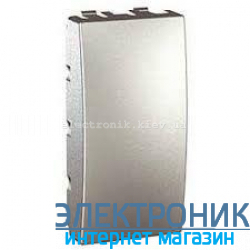 Schneider (Шнайдер) Unica алюминий заглушка 45х22,5 половинка