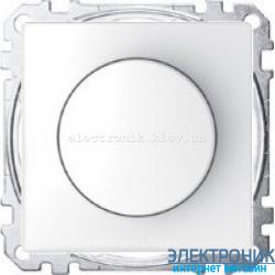 Диммер поворотно-нажимной , 20-600Вт, цвет Белый лотос, Schneider Merten D-Life