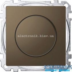 Диммер поворотный для LED ламп, цвет Мокка, Schneider Merten D-Life