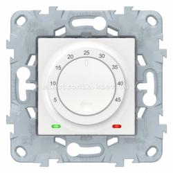 Терморегулятор для теплого пола, Белый, серия Unica New