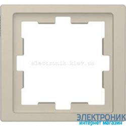 Рамка 1-ая (одинарная), цвет Сахара, Schneider Merten D-Life