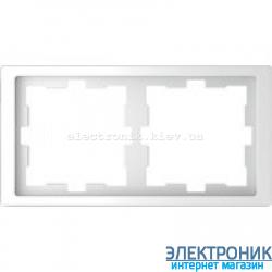 Рамка 2-ая (двойная) , цвет Белый Лотос, Schneider Merten D-Life