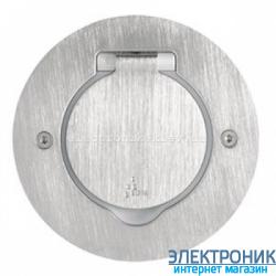 Лючок круг, металл нержавеющая сталь Legrand