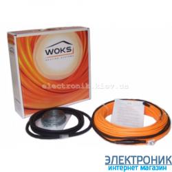 Нагревательный кабель Woks 10, 1400 Вт, 142 м