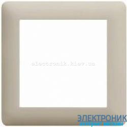 Рамка 1-однократная Hager Lumina2  крем