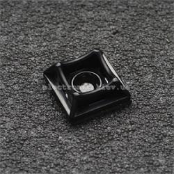 Площадка универс 20х20 самокл. с отверстием для стяжки шириной до 5мм черная (упаковка 50шт)