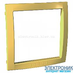 Вставка декоративная для рамок Schneider (Шнайдер) Unica Colors Желтый