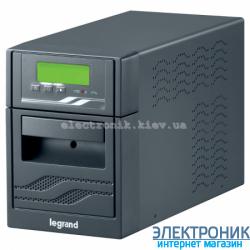 Источник бесперебойного питания legrand niky s, 3000ва, 1800вт, 12в/9ач, 4 батареи, разъёмы мэк (iec), usb-rs232