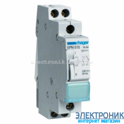 Импульсное реле Hager EPN515 - 230В/16А, 1НО+1НЗ