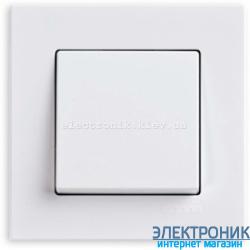 Eqona Выключатель 1-клав. белый