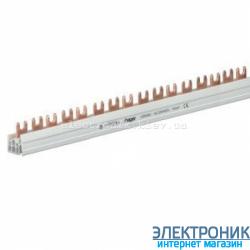 Шина вилочная 2-полюсная на 57 модулей Hager KDN263B