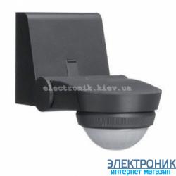 Датчик движения внешней установки 360° IP55 антрацит Hager EE841