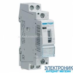Установочное реле Hager ERC216 - 230В/16А, 2НО