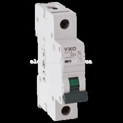 Автомат 1C (однополюсный) 6А 4,5кА 230/400V +B25:B52Тип C VIKO