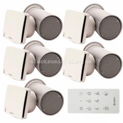 Комплект вентиляции для 5-и комнатного дома Aspira Ecocomfort 160 RF ErP V5