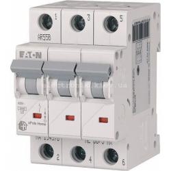 Автоматический выключатель Eaton (Moeller) HL 4,5kA х-ка C 3P 13А (194790)