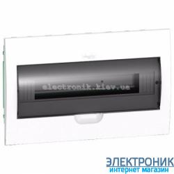 Щит Schneider-Electric Easy9 встроенный 18 модулей прозрачная дверь IP40