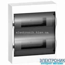 Щит Schneider-Electric Easy9 навесной 24 модуля прозрачная  дверь IP40