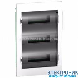 Щит Schneider-Electric Easy9 встроенный 36 модулей прозрачная дверь IP40