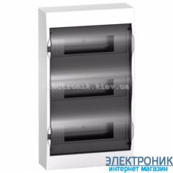 Щит Schneider-Electric Easy9 навесной 36 модулей прозрачная  дверь IP40