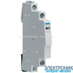 Доп. контакт для контакторов 250В 2 А, 1НО+1НЗ, Hager ESC080