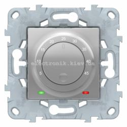 Терморегулятор для теплого пола, Алюминий, серия Unica New