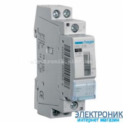 Установочное реле Hager ERC218 - 230В/16А, 1НО+1НЗ