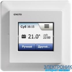 Терморегулятор для теплого пола с сенсорным дисплеем ECO 16 TOUCH Ensto