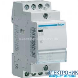 Контактор бесшумный Hager ESC325S - 230В/25A, 3НО