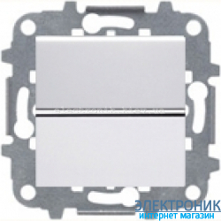 Выключатель 1-кл. перекресный ABВ Zenit белый