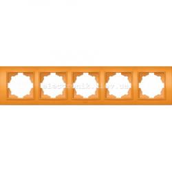 Рамка 5-я EL-BI Zena Colorline Оранжевый