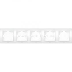 Рамка 5-я EL-BI Zena белый