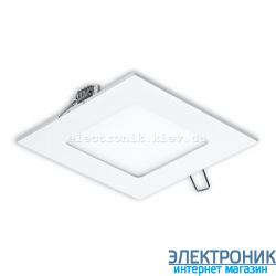 Світлодіодна панель квадратна-3Вт (85x85) 6400K, 240 люмен