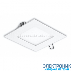 Світлодіодна панель квадратна-6Вт (120x120) 6400K, 470 люмен