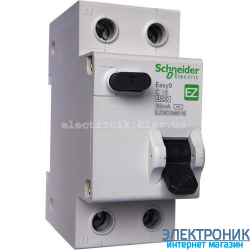 Дифавтомат  Schneider-Electric Easy9 2P 16A 30мA