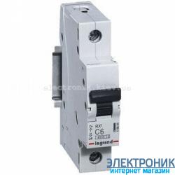 Автоматический выключатель Legrand RX3 - 1P 50А, С