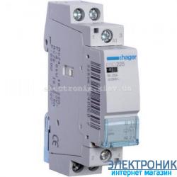 Контактор Hager ESD225 - 24В/25A, 2НО