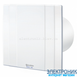 BLAUBERG QUATRO 125 Т - вытяжной декоративный вентилятор с таймером