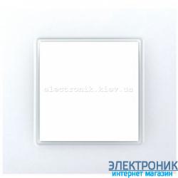 Рамка одноместная Schneider (Шнайдер) Unica Quadro Белая