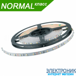 Светодиодная LED лента (холодный свет) 4.8 вт на метр (бабина 5 метров)