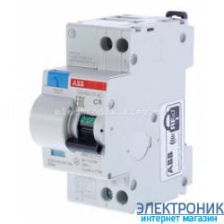 Дифференциальный автомат ABB DS 951 AC-C6/0,03A