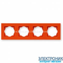 Рамка 4-я Gunsan Eqona оранжевые